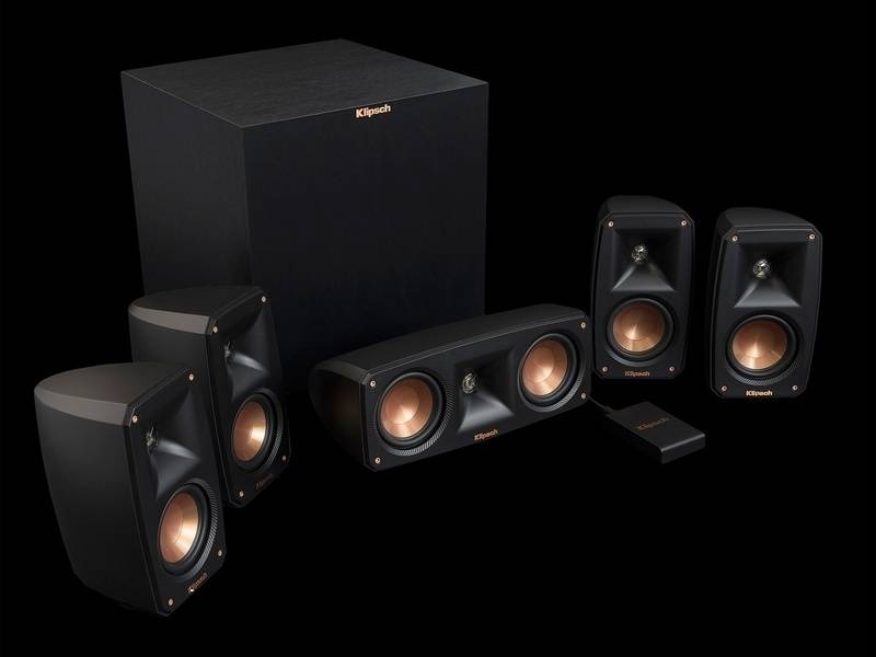 Klipsch bán ra hệ thống Loa 5.1 Reference Theater Pack